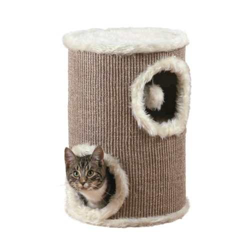 Trixie 4331 Cat Tower, ø 33 cm/50 cm, braun/beige - 2